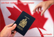 Julie Taub immigration lawyer with Canadian passport